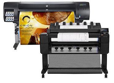 HP Designjet Large Format Printers